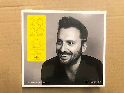 CESARE CREMONINI 2020 the best of NUOVO ORIGINALE SIGILLATO BOX 3 CD