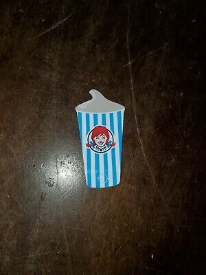 1 Wendys FROSTY KEY TAGS! NEW FOR 2020~FREE Frosty Jr With Purchase All Year