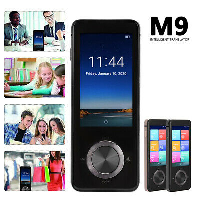 Smart Instant Translator M9 Voice 107 Languages Offline Translation Device Black