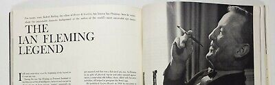 Ian Fleming's last interview LEN DEIGHTON Cecil Beaton HORST Vogue Magazine 60's