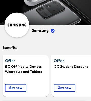 Samsung Tech / Apple, and many more 15% - 10% Off Discount Link