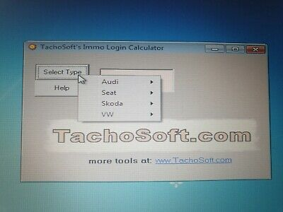 Tachosoft  Immo Login Calculator