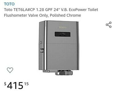 Toto TET6LA#CP Eco Power Toilet Flush Valve 1.28 GPF