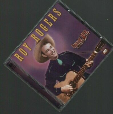 Roy Rogers Country Music Legends Western Music 2 CD Set