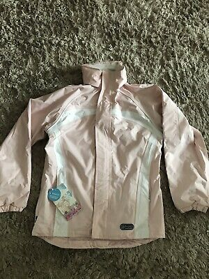 Regatta Hydrafort Waterproof & Windprood Coat Baby Pink 11-12 Years