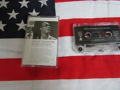 Stevie Wonder Song Review Music cassette