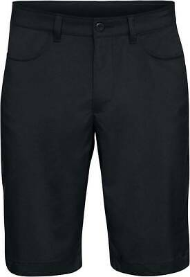 NEW Under Armour Men's Leaderboard Black UA Golf Shorts Men's Size 42 NWT