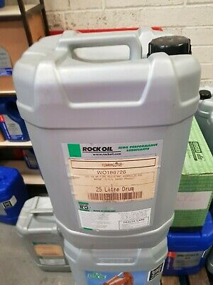ROCK OIL ISO 46 Fire Resistant Hydraulic Fluid 25lt Is Also Biodegardeable CHEAP
