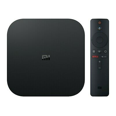 Xiaomi Mi Box S 4K HDR Android TV Streaming Media Player w/Google Assistant NEW