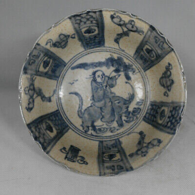 Chinese ancient antique hand make bowl Porcelain decoration a2033  we42