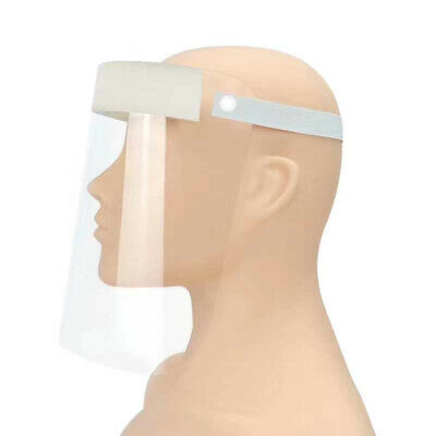 1pc Full Cover Face Shield Clear Flip-up Eye Protect Transparent Guard 32*22cm