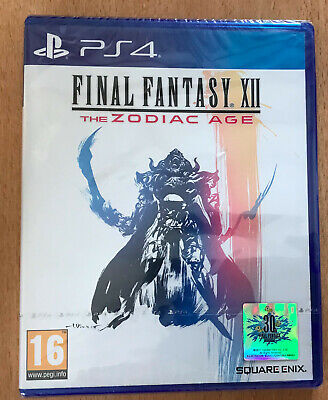 Jeu Video Pour Playstation 4  Ps 4 Ps4 Neuf Final Fantasy Xii The Zodiac Age