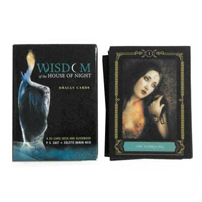 50 Wisdom of the House of Night Oracle Cards tarot cards board game cards