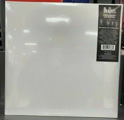 The Beatles The White Album Aniversario Doble Vinilo LP Edición