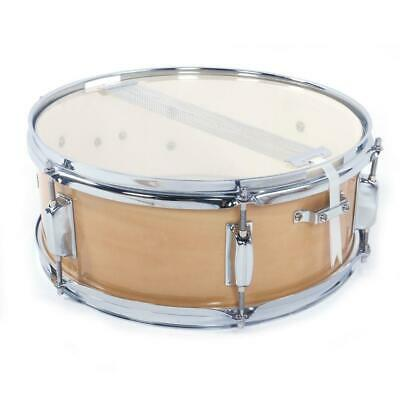"""Glarry Snare Drum Head 14""""x5.5"""" with Drumstick Strap for Student Band"""