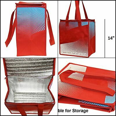 Earthwise Insulated Reusable Grocery Bag Shopping - Keeps Food Hot Or Cold Large