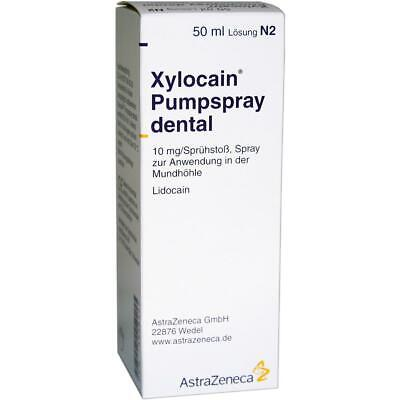 XYLOCAIN DENTAL Pumpspray 50 ml PZN:03839499