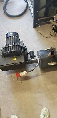 RIETSCHLE SKG 300-2V.01 Vacuum/blower  motor with filter.