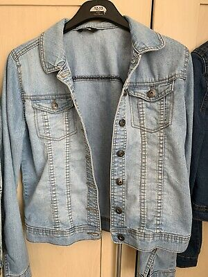 GIRLS DENIM JACKET - GEORGE - 13-14 Years - EXCELLENT CONDITION