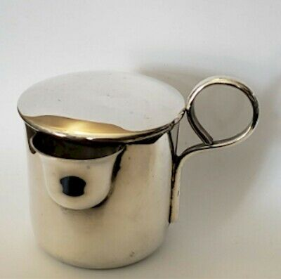 Vintage Mexico Sterling Silver baby Cup with Lid