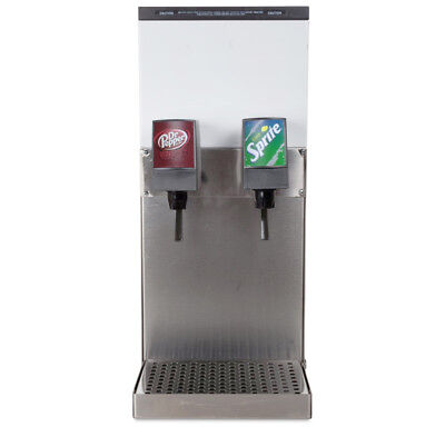 SODA DISPENSER  2 Flavor Counter Electric Refrigerated