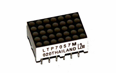 Lite-On LTP-7057M  5x7 Green/Red LED Dot Matrix Display