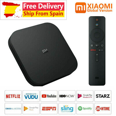 Original Xiaomi Mi TV Box S 4K 8G Android HDR Media Player Receiver 8.1 Ultra HD