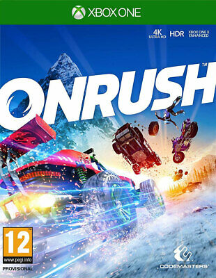 ONRUSH (Xbox One)  BRAND NEW AND SEALED - IN STOCK - QUICK DISPATCH