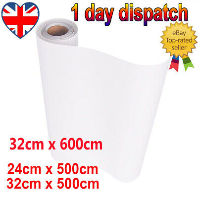 5M Clear Vinyl Application Tape Sticky Sign Decal Transfer Paper UK Top Seller