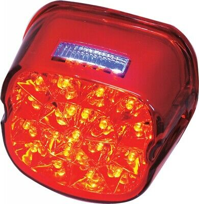 Harddrive Laydown Led Taillight Red Lens (L24-0433Rled)