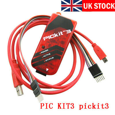 Kit3 PICkit3 PIC Debugger Programmer Emulator Download Controller Development