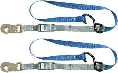 Steadymate Cinchtite 4 Motorcycle Tie Down Pull Straps ATU UTV Scooter 15468