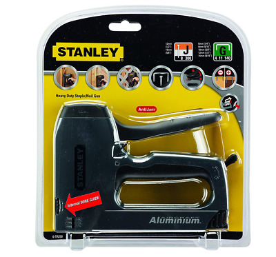 Stanley Staple and Brad Gun Brad Nailer Hi/Lo Lever Cable Tacker and Wire Tacker