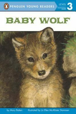 Baby Wolf (All Aboard Science Reader) by Mary Batten, Good Book
