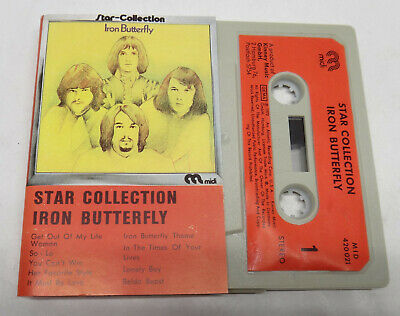 Iron Butterfly Star Collection MC Cassette midi 420 021