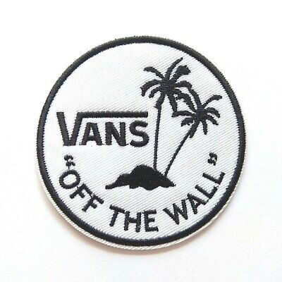 Vans Off The Wall Paradise Skateboard Iron On Patch