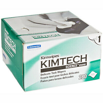 AmScope Kimtech Science KimWipes Delicate Task Wipers