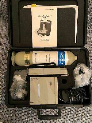 Drager Alcotest 7410 Plus Alcohol Breathalyzer Kit with Case