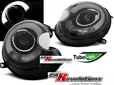 BMW Mini Cooper - LED Light Tube Scheinwerfer in schwarz