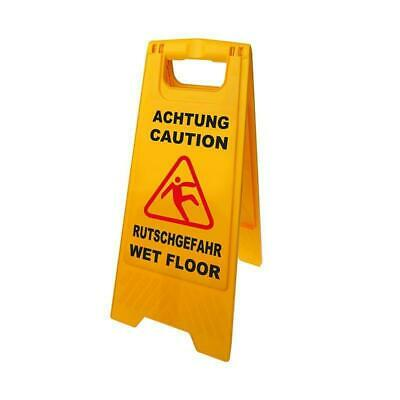Warning Sign Attention Danger of Slipping 58cm Warning Sign Warning Smooth Stand