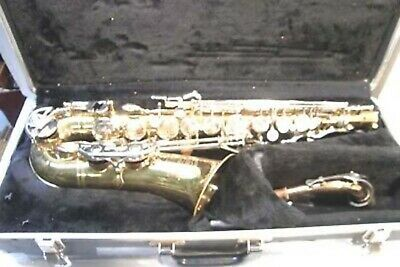 Vintage Selmer Bundy Ii Alto Sax Saxophone W/Hard Case -Sounds Great