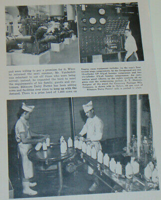 Vintage 1958 Southern Dairy Products Journal! Special Bilmore Dairy Farms Issue!