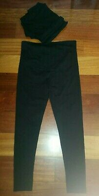4 PAIRS of Black Maternity Leggings from KMART - Size 14