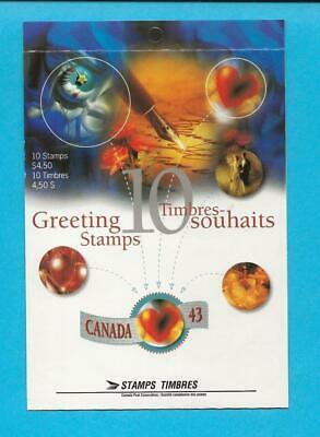 1994 Canada Stamp Booklet 1508a - Greetings Stamps - Timbres Souhaits - ca27