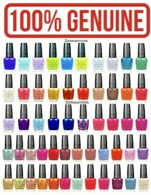OPI Nail Polish/Lacquer/Varnish 15ml ✅BUY WITH CONFIDENCE✅GENUINE OPI GAURANTEED