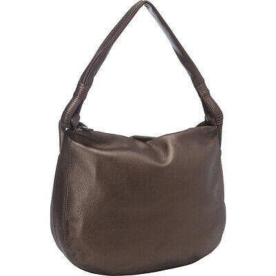 Derek Alexander Inset Top Zip Hobo 2 Colors