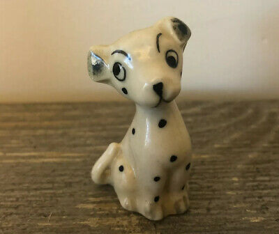 Vintage Bone China Dalmation Dog Figurine ~ Made In Japan
