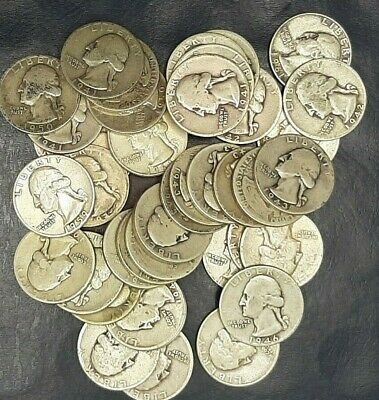 1 (Each) Washington Quarters Good Or Better 90% Silver 1932 To 1964