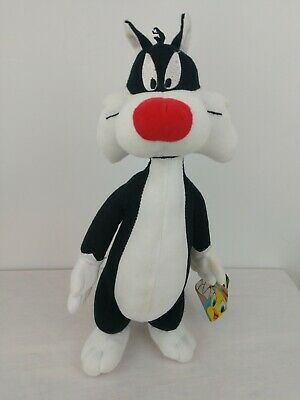 The Toy Factory 2014 Warner Bros Looney Tunes Sylvester Cat Plush Toy 11""