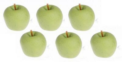 Dolls House Green Apples Miniature Kitchen Garden Greengrocers Accessory Fruit